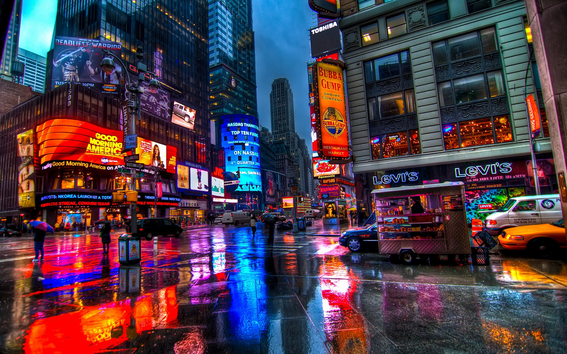 Related wallpapers from Times Square Wallpaper Day 1920x1200