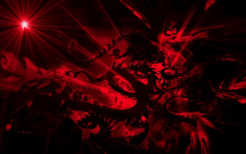 Abstract Wallpaper Black Red And 969x606