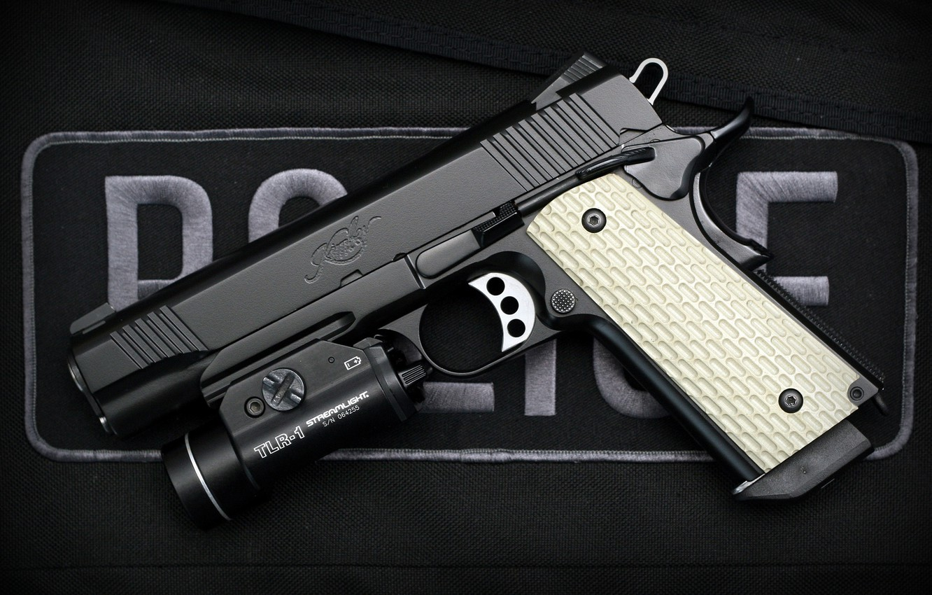 Wallpaper gun semi automatic Kimber Warrior images for desktop 1332x850
