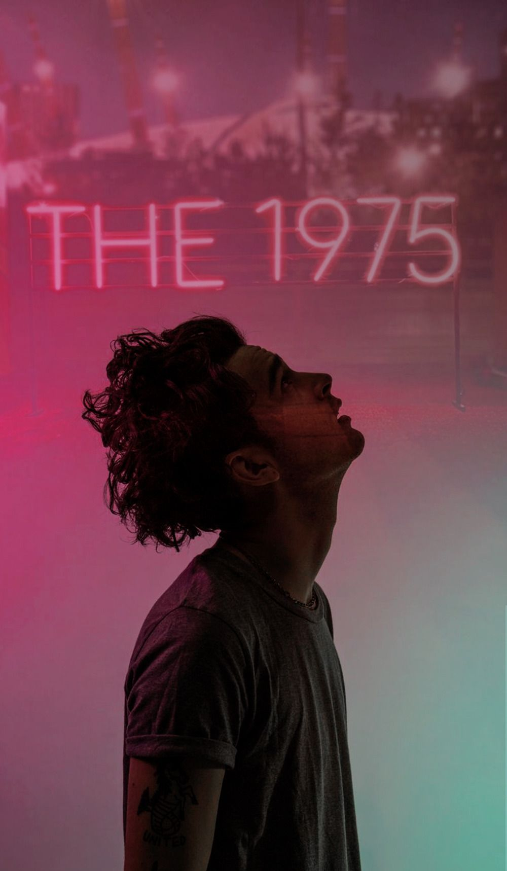 The 1975 Matty Healy Wallpaper me in 2019 The 1975 1000x1718