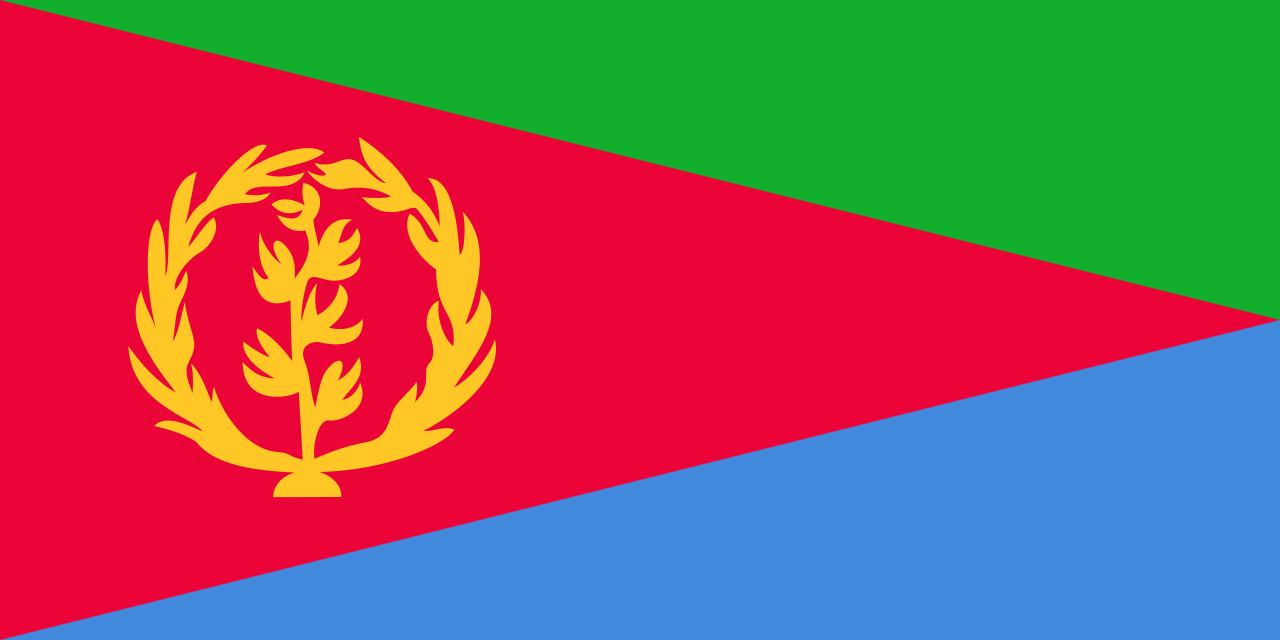 Wallpaper Of The Flag Of Eritrea PaperPull 1280x640