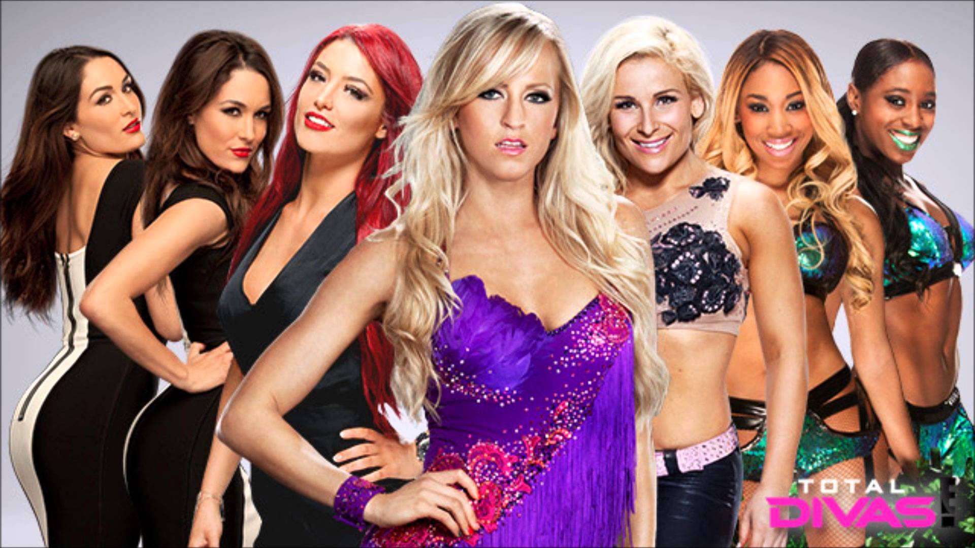 Wwe total divas wallpaper wallpapersafari - Wwe divas wallpapers ...