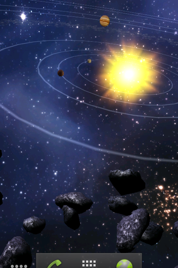 Asteroids 3D Live Wallpaper - WallpaperSafari