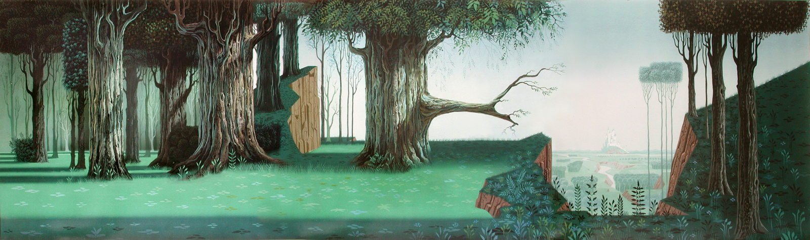 Justins Kartoon Korner Disneyear Sleeping Beauty 1959 1600x475