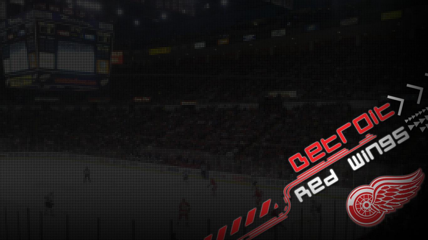 Detroit Red Wings Desktop Wallpaper Collection 1366x768