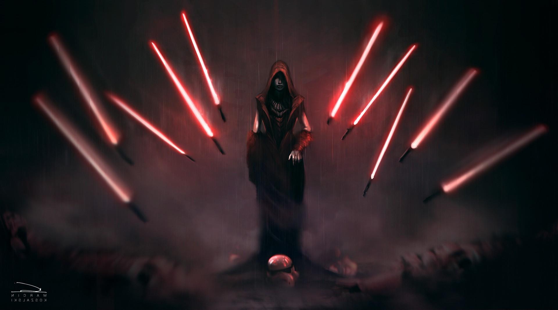 Fantasy Art Artwork Lightsaber Star Wars Sith 1920x1068