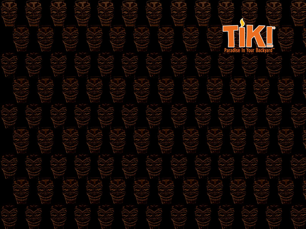 Tiki Wallpaper Party In Your Backyard