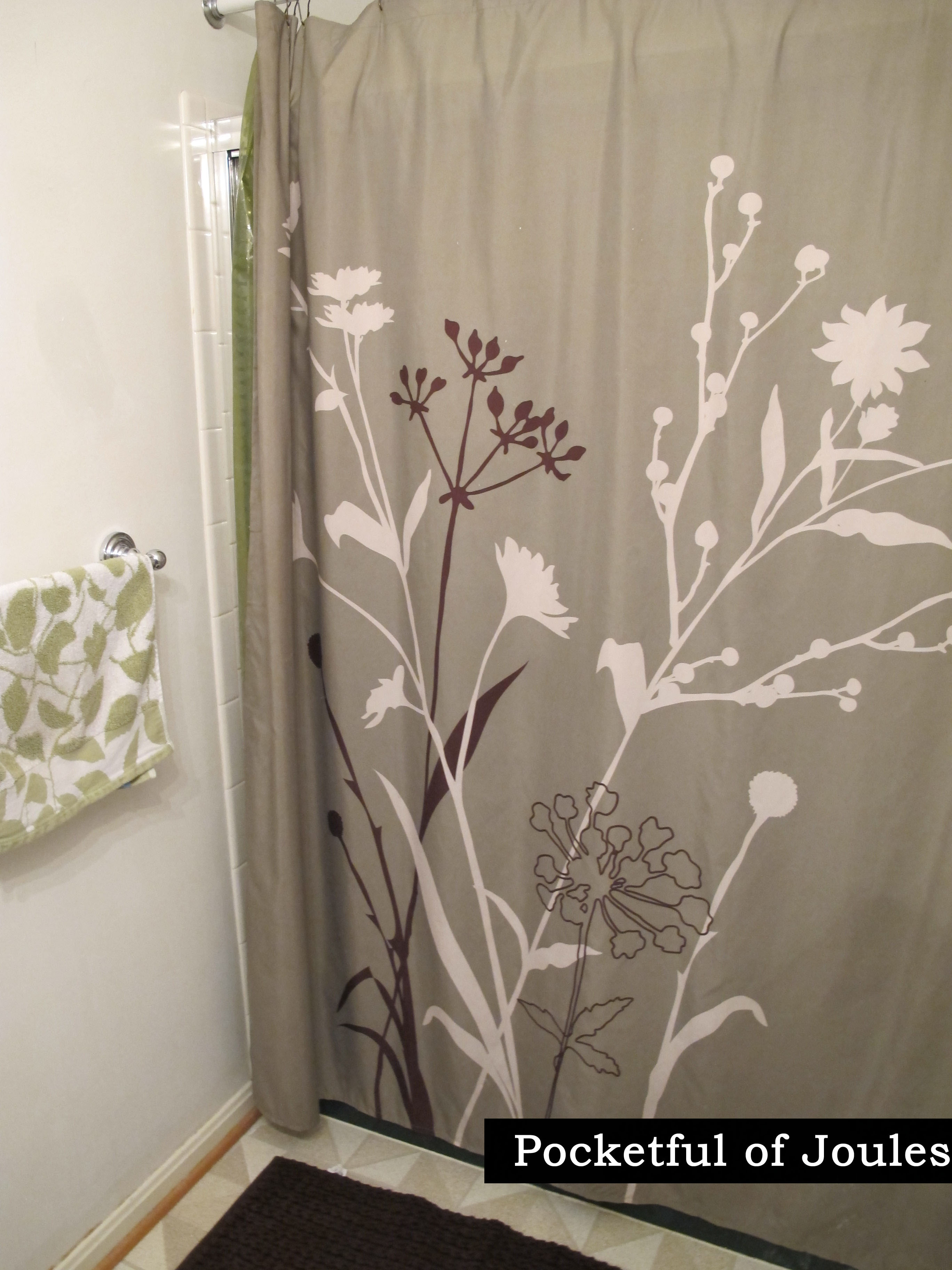 Matching Wallpaper And Shower Curtains Wallpapersafari
