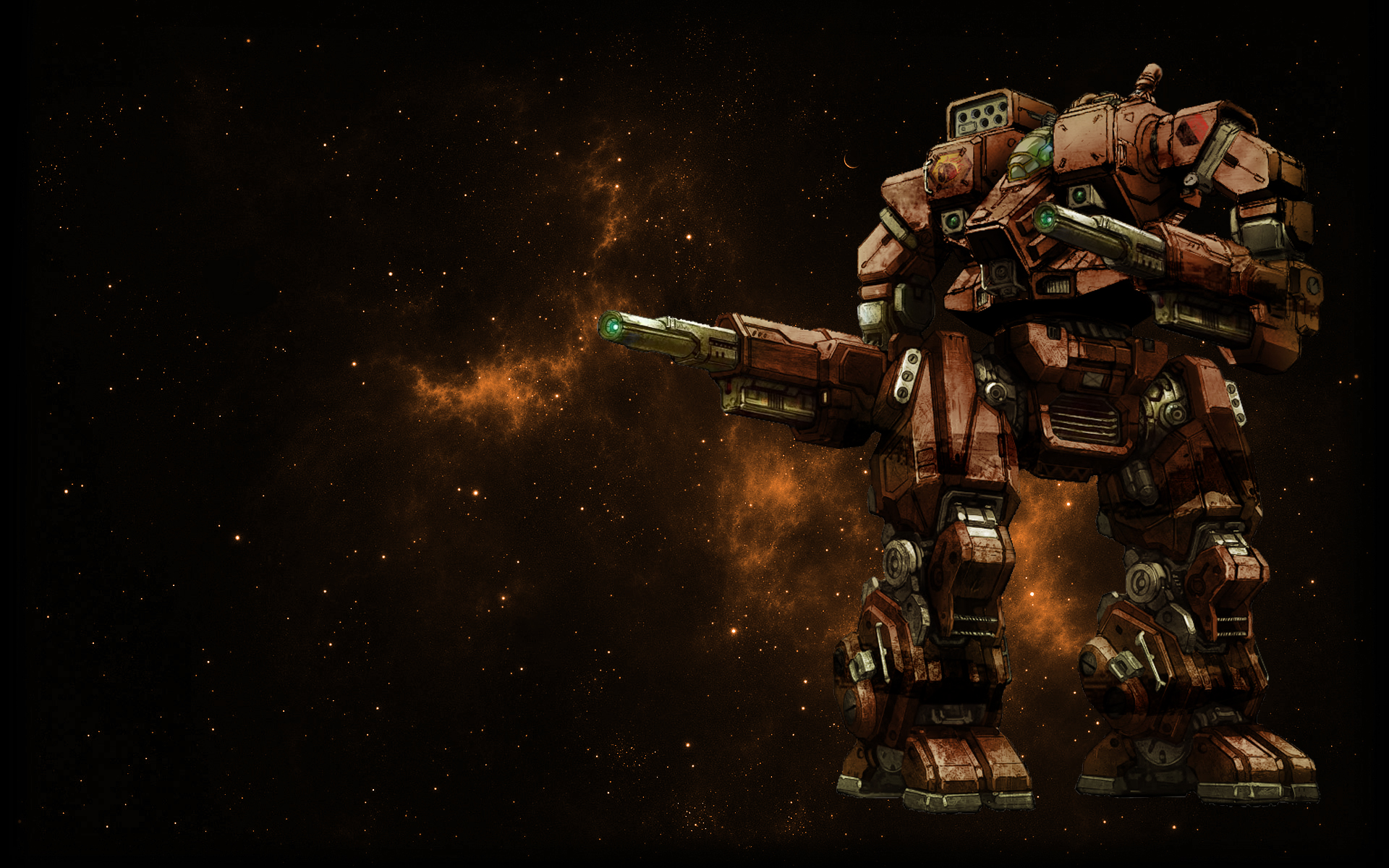 MWO unnoficial Hellbringer Loki Wallpaper by Odanan on deviantART 1920x1200