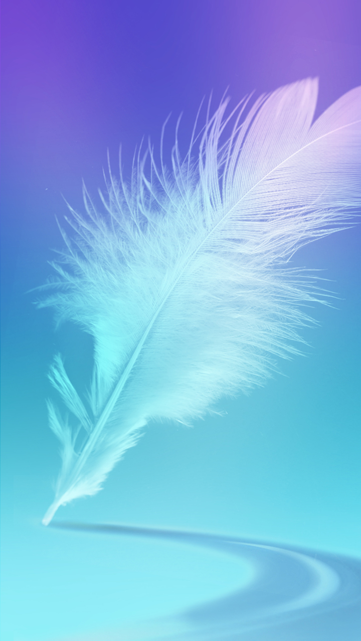 Wallpaper Phone Feather Wallpaper Samsung Galaxy J7 720x1280