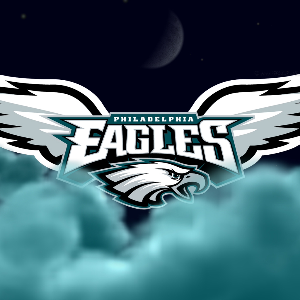Wallpapers By Wicked Shadows Philadelphia Eagles Flying High 1024x1024