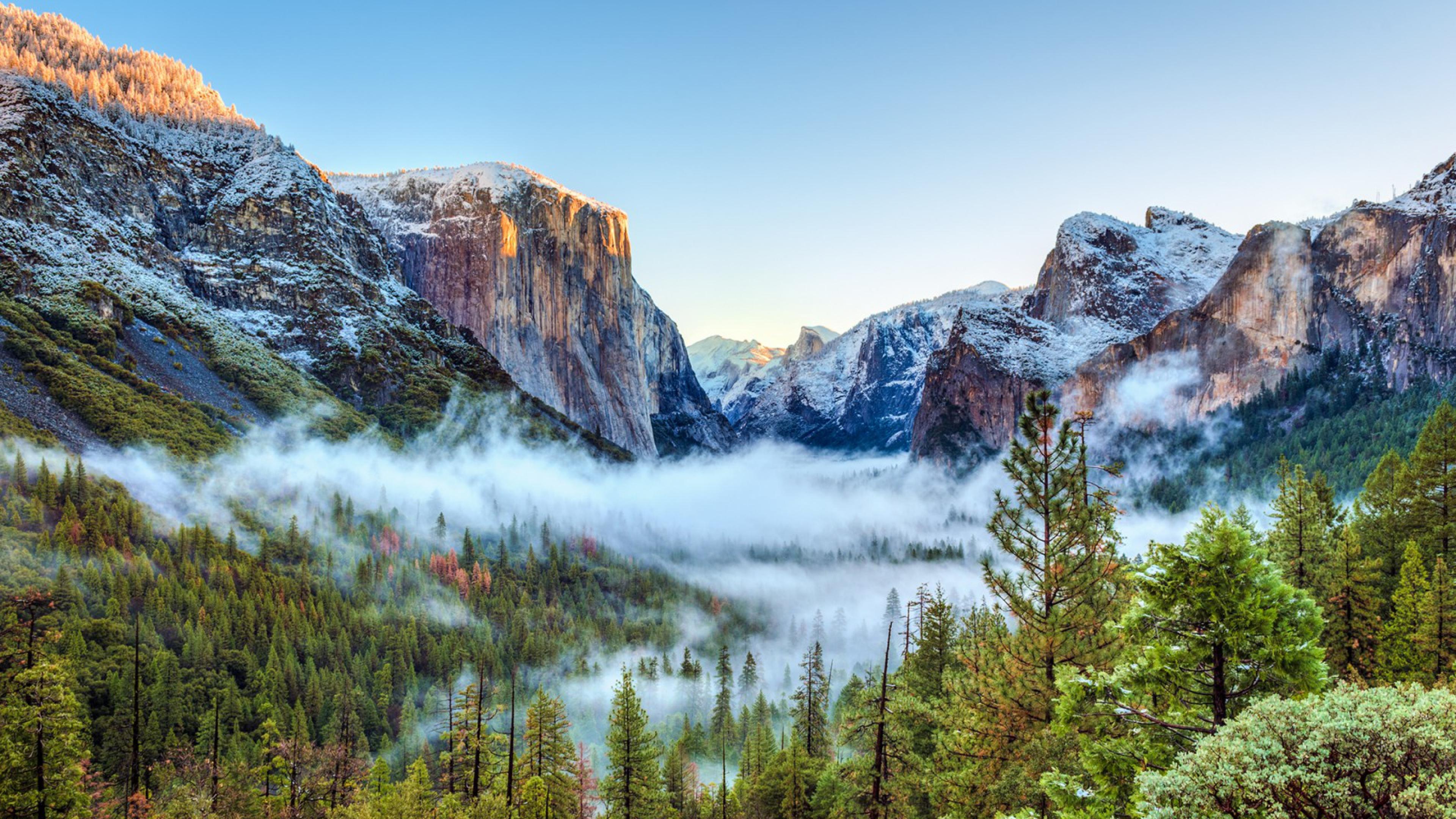 Yosemite 4K Wallpaper