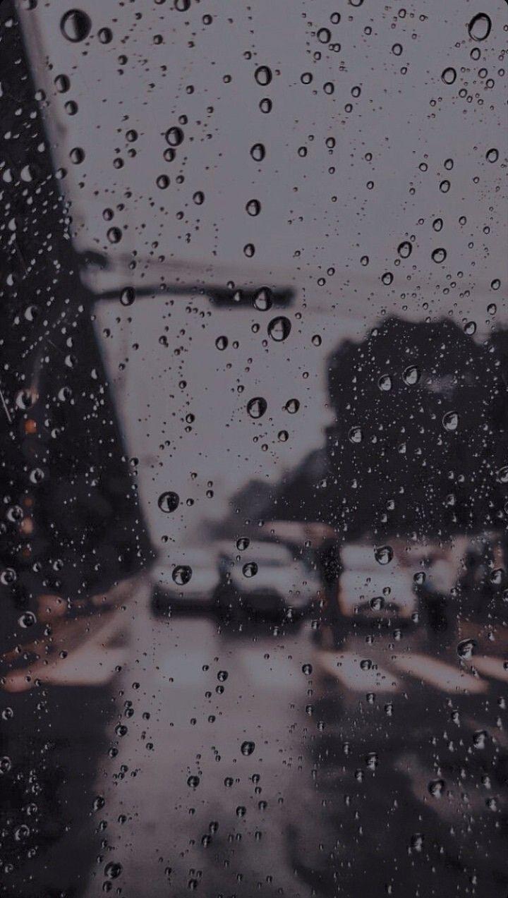 Rain wallpaper in 2020 Rain wallpapers Rainy wallpaper Rainy 720x1273