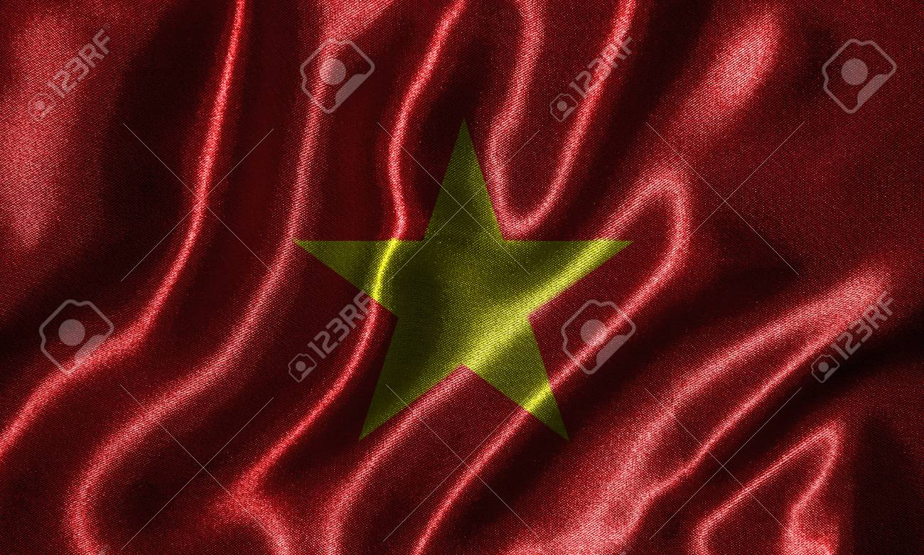 Vietnam Flag   Fabric Flag Of Vietnam Country Background And 1300x781