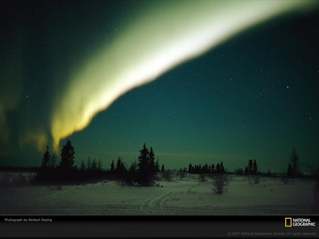 Aurora Borealis Churchill Canada 1024x768