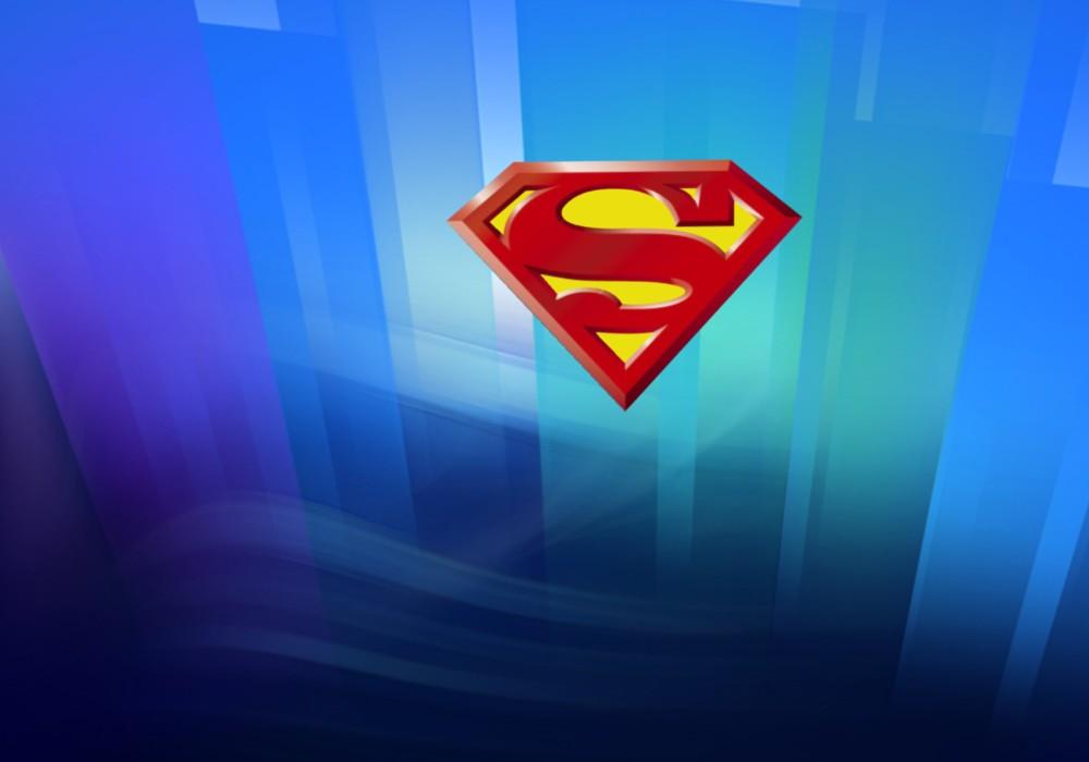 Superman wallpapers posters Superman Logos in Crystal Kryptonite 1000x700