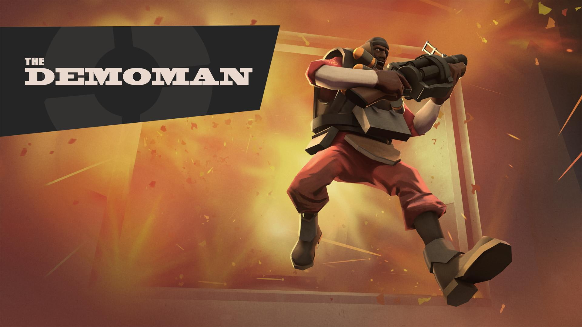 HD wallpaper Team Fortress 2 game application Demoman Team 1920x1080