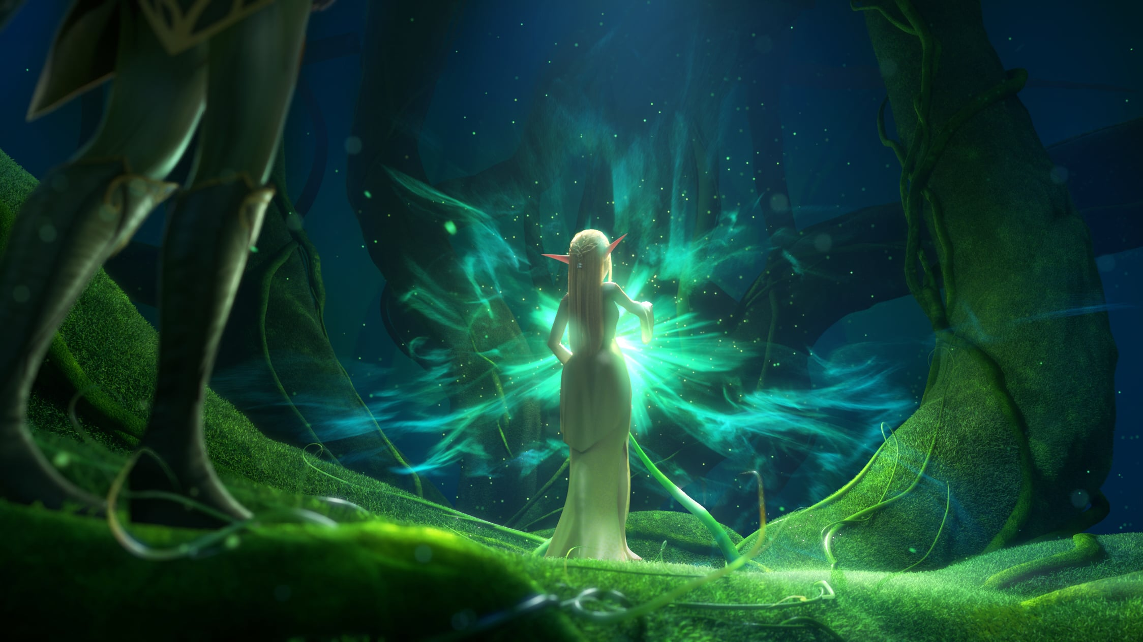 Throne of Elves HD Wallpaper Background Image 2248x1264 ID 2248x1264