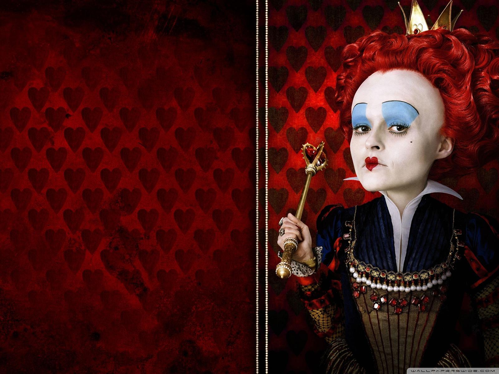 Description queen of hearts Alice in Wonderland Movie HD Wallpaper 01 1600x1200