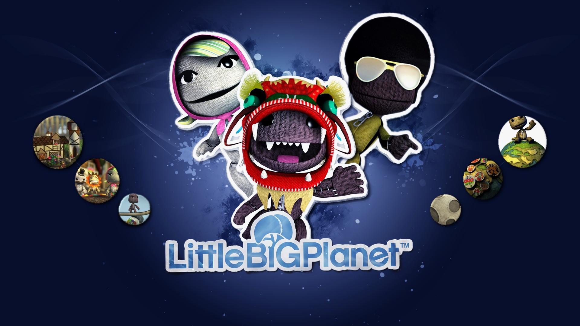 графика игры The Little Big Planet graphics game  № 1878097 бесплатно