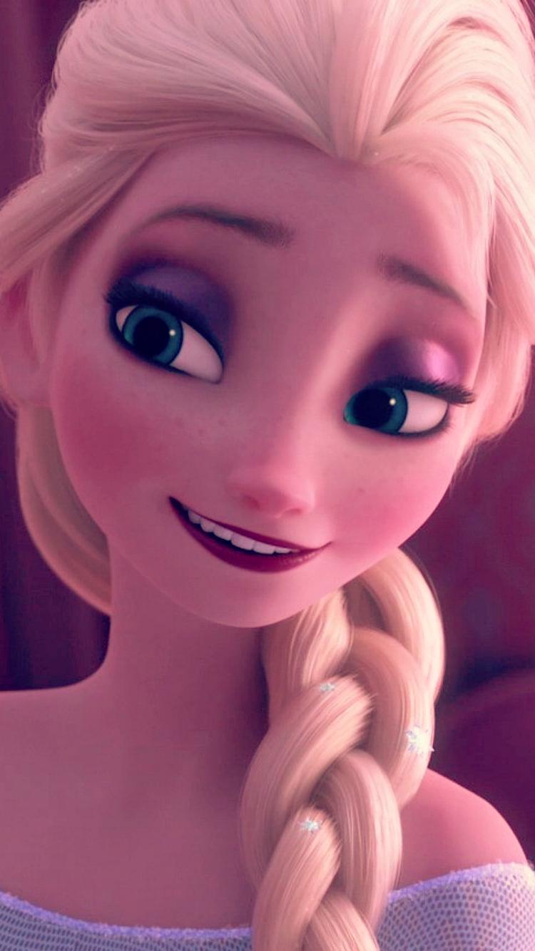 Frozen Fever Elsa Phone Wallpaper   Frozen Fever Photo 39332059 750x1334