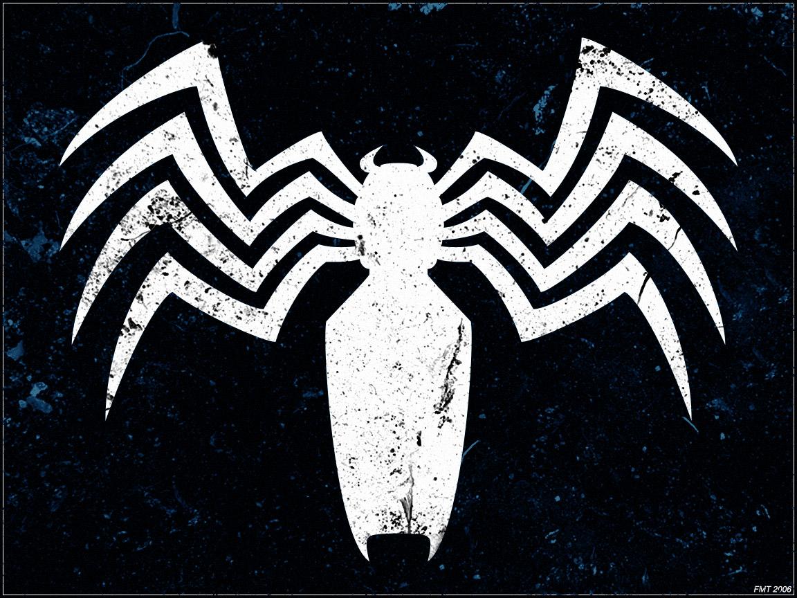 venom s spider symbol by botskiz fan art wallpaper other this is a 1152x864