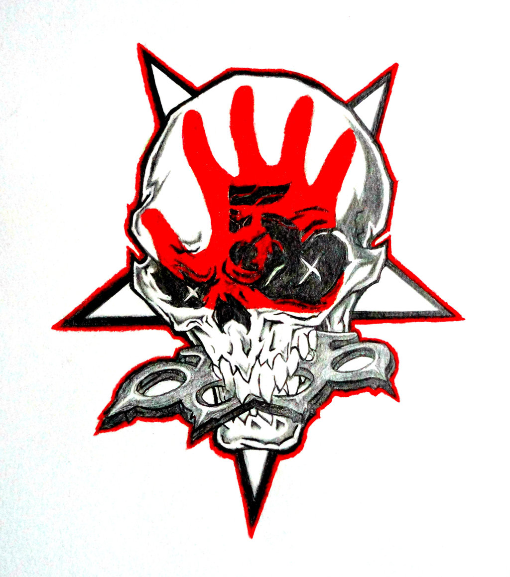 Free Download Five Finger Death Punch Skull By Crossfade528