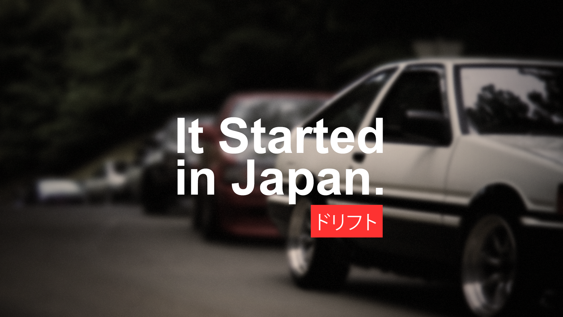 car Japan Drift Drifting Racing Vehicle Japanese 1920x1080