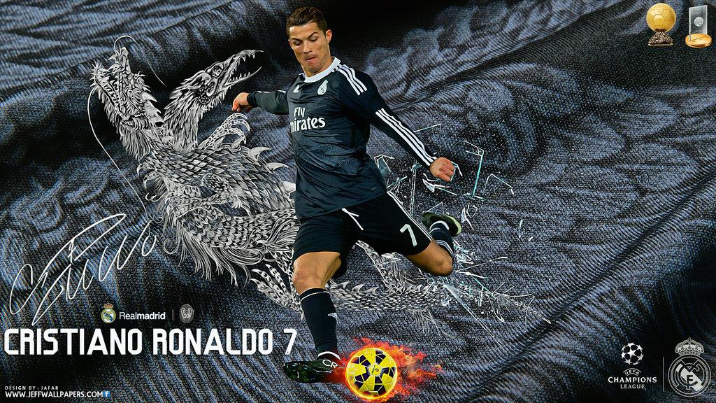 Ronaldo Real Madrid Wallpaper 2015 by jafarjeef 1024x576