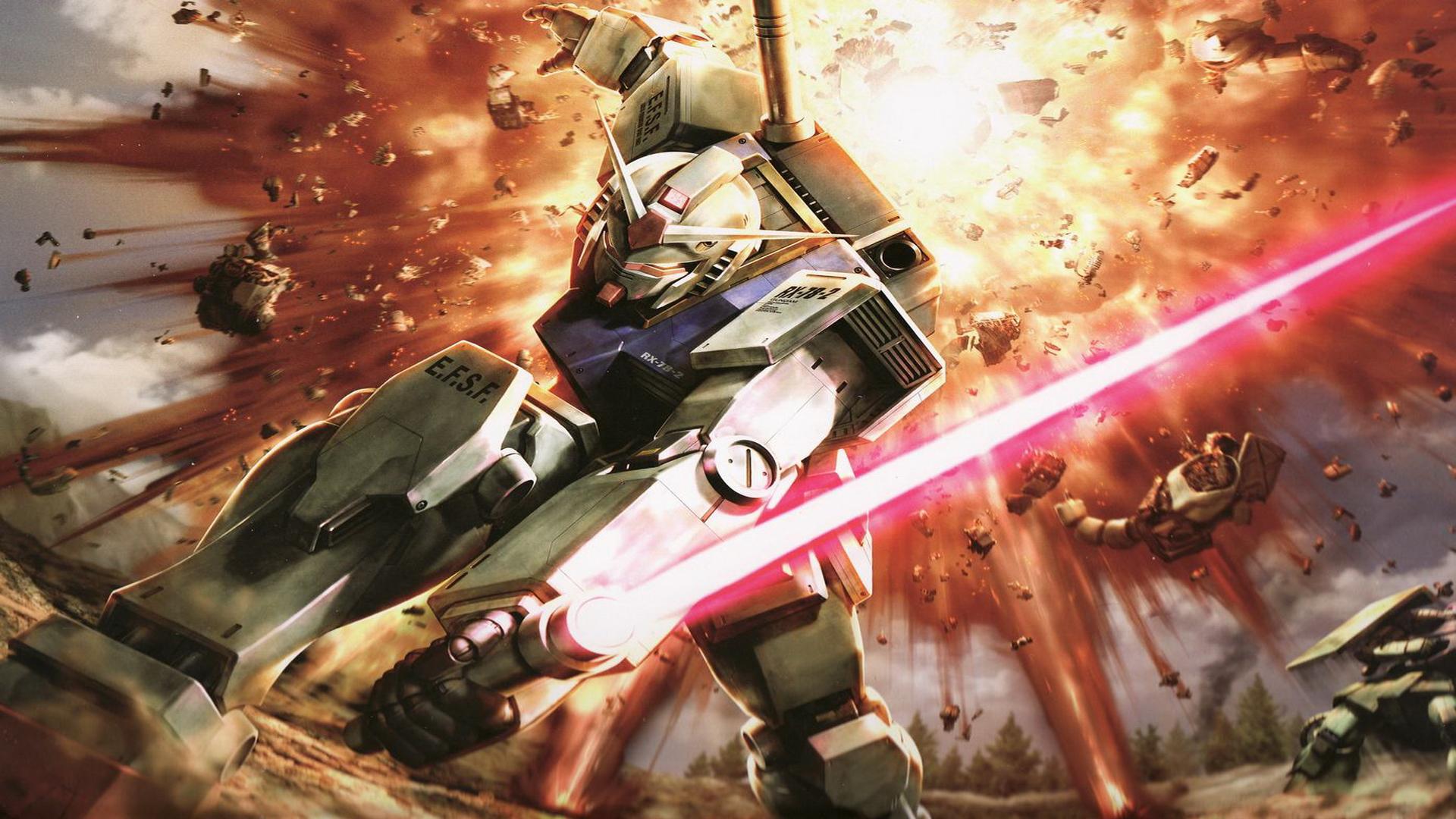 38 Gundam Wallpapers 1080p On Wallpapersafari