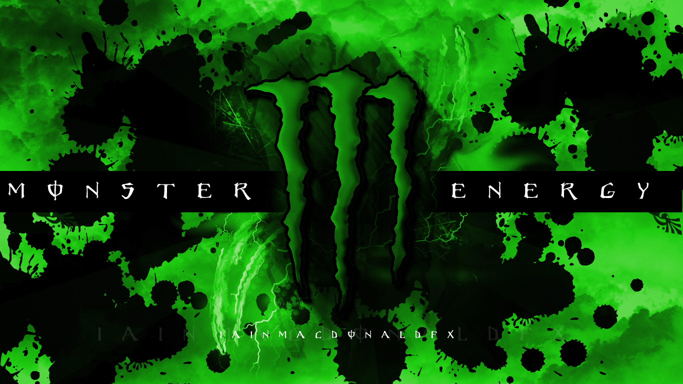 Pics Photos   Wallpapers Monster Energy Computer 1920x1200 1366x768