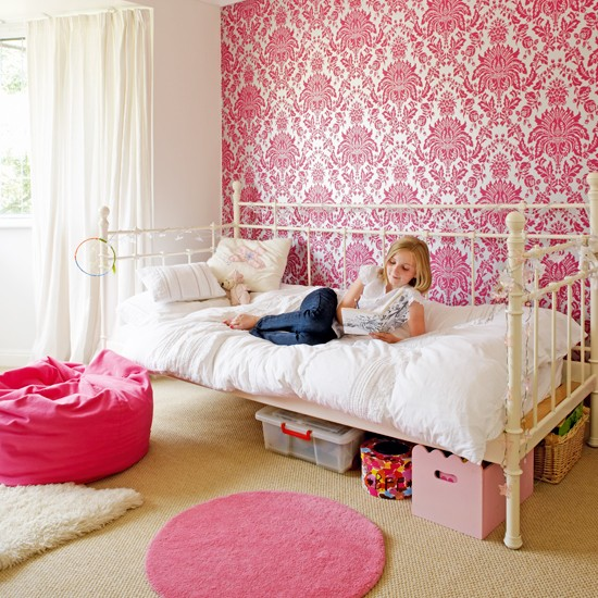 48+] Pink Wallpaper for Bedrooms on WallpaperSafari