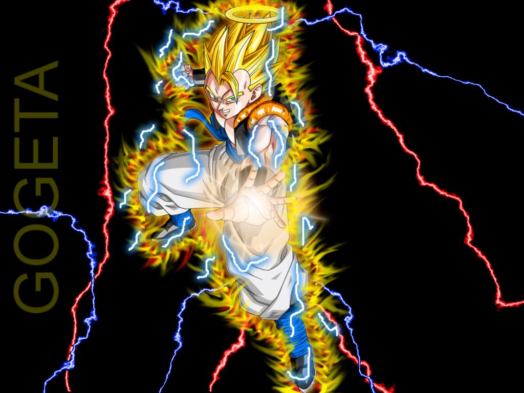 Dragon ball Z   Super Gogeta thunder by DimaV89 1024x768