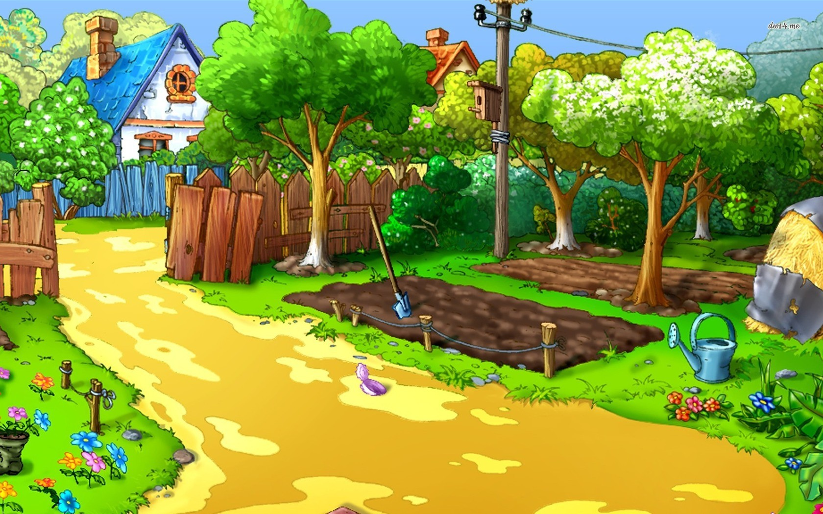 cartoon farm Cartoon farm wallpaper 1280x800 Cartoon 1680x1050