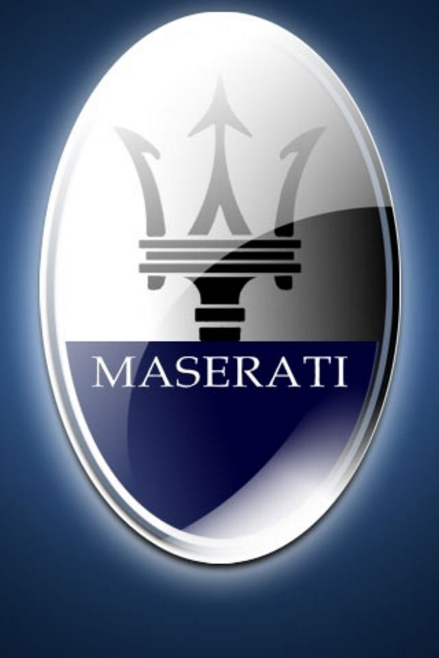 Maserati Logo Wallpaper 640x960