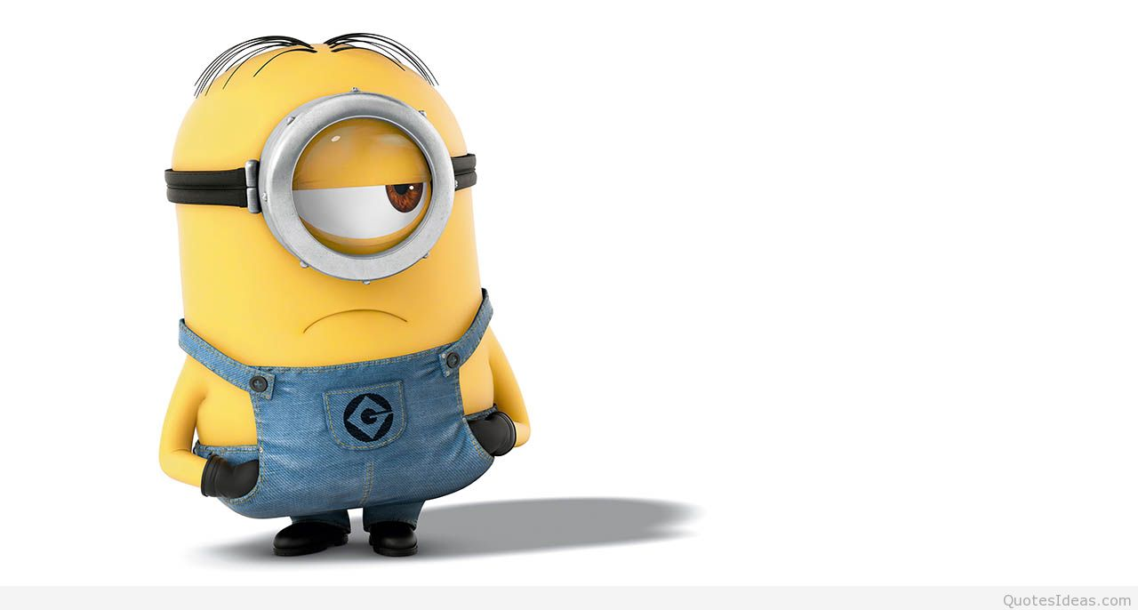 Minions backgrounds quotes and images 1280x686