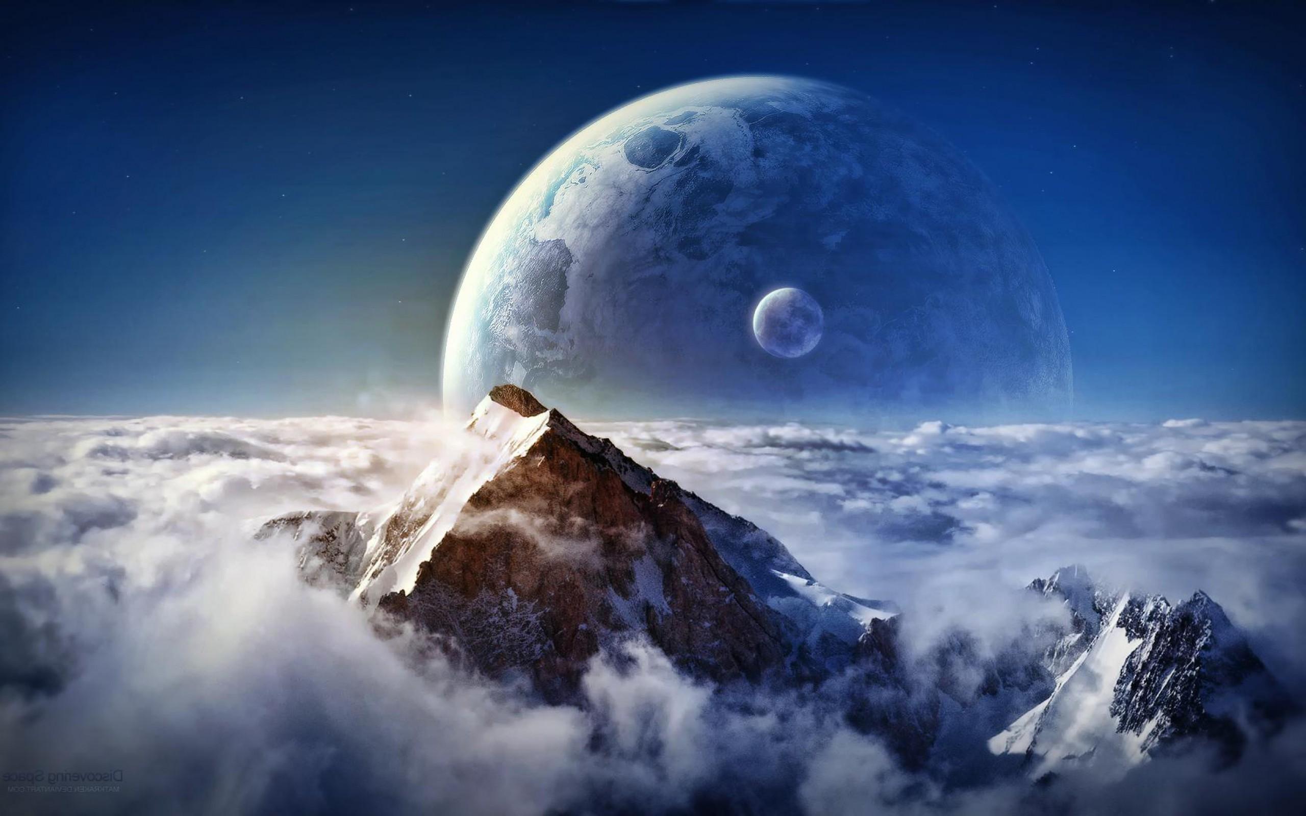 Hd Fantasy Wallpapers To Inspire Your Desktop: Sci Fi Landscape Wallpaper HD