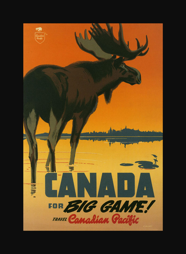 Canada With Canadian Pacific   Vintage Travel Posters Wallpaper Image 792x1080