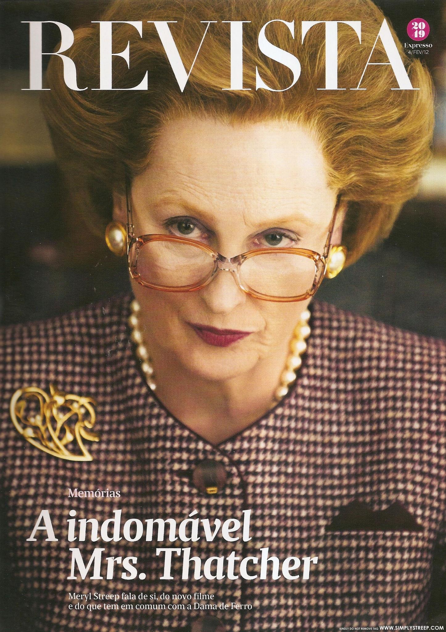 Meryl Streep images Revista Expresso [February 2012] HD wallpaper 1446x2048