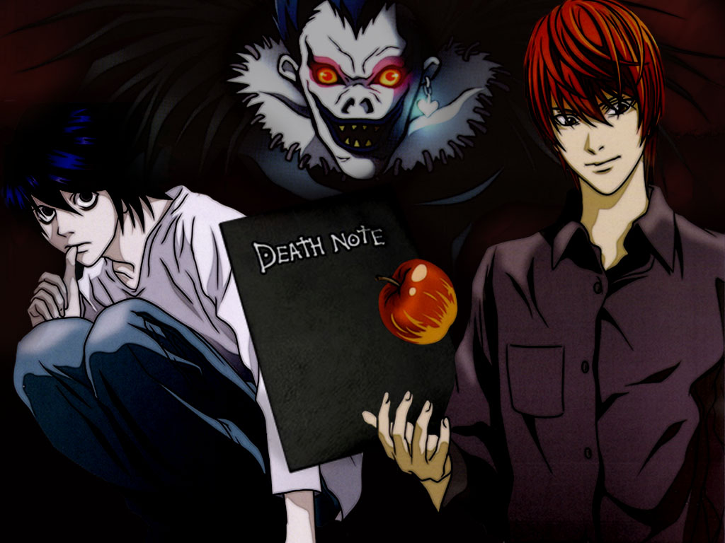 Free Download Ani Mangas Death Note Wallpapers 1024x768