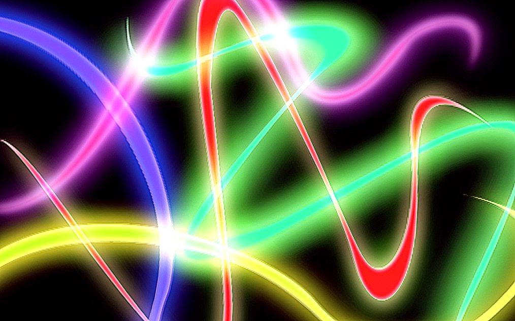 HD Abstract Wallpaper Neon Smoke - WallpaperSafari