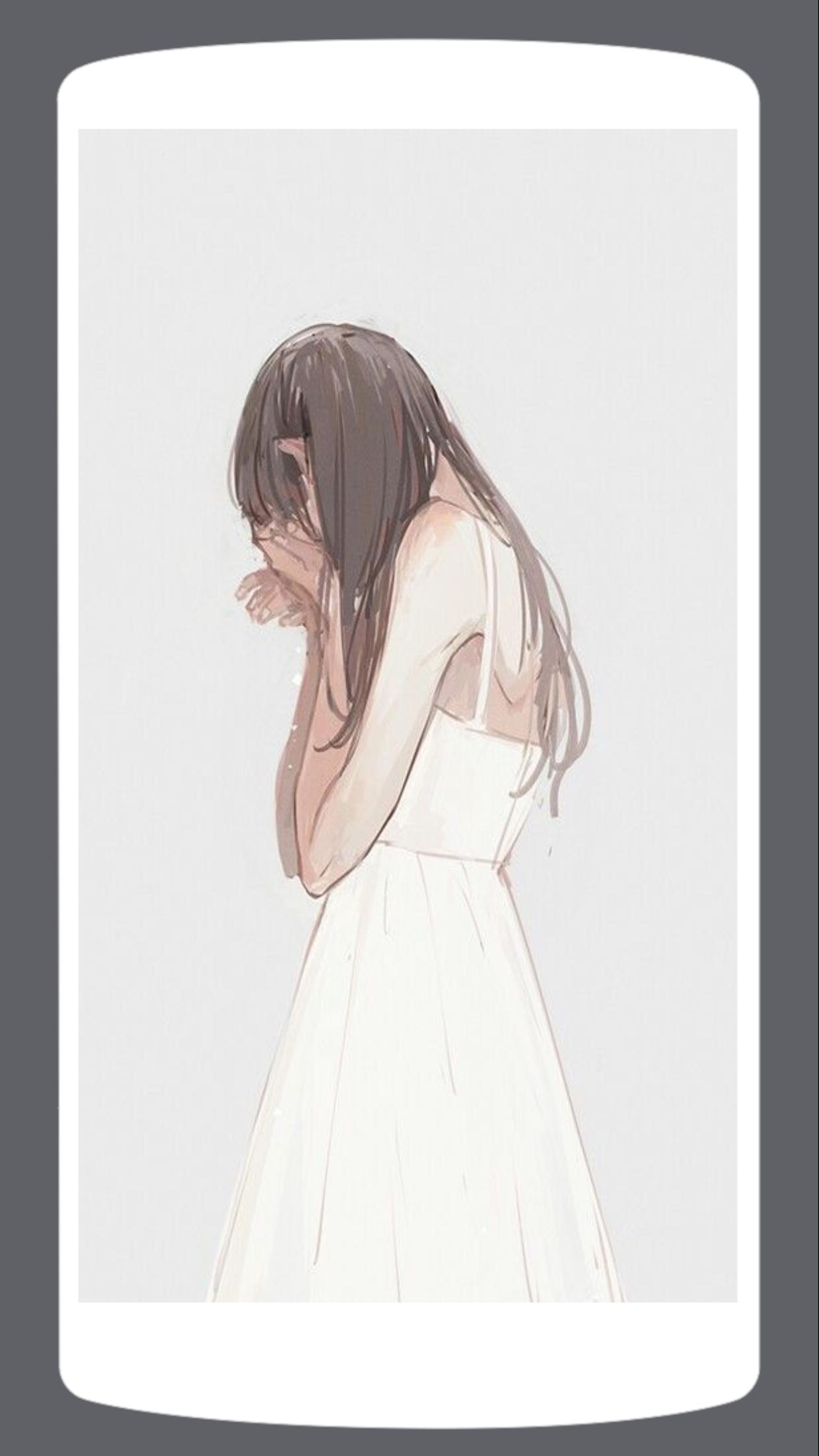 HD Sad Anime Wallpaper for Android   APK Download 1242x2208