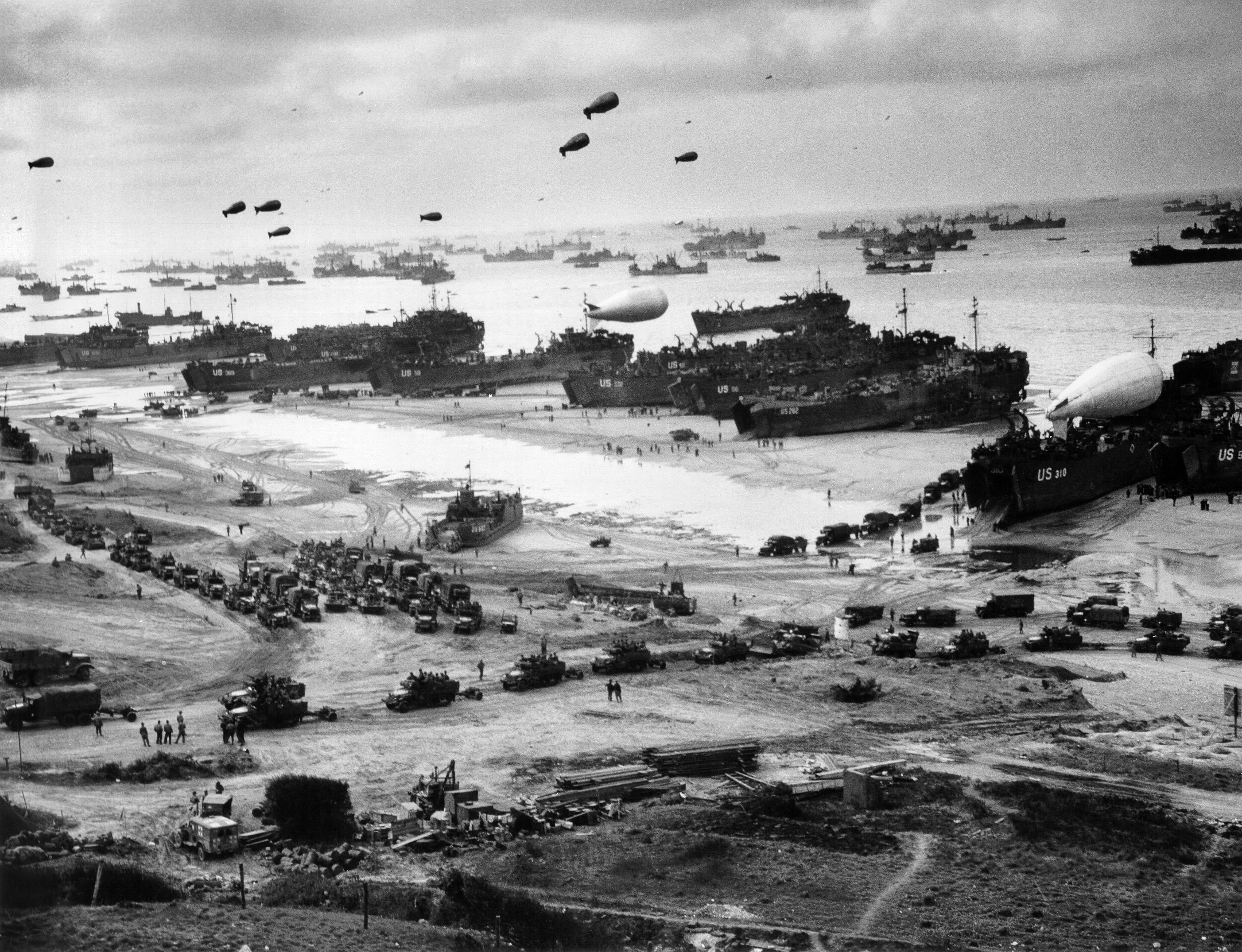 World War II Military Omaha Beach D Day Wallpapers HD Desktop 2804x2150