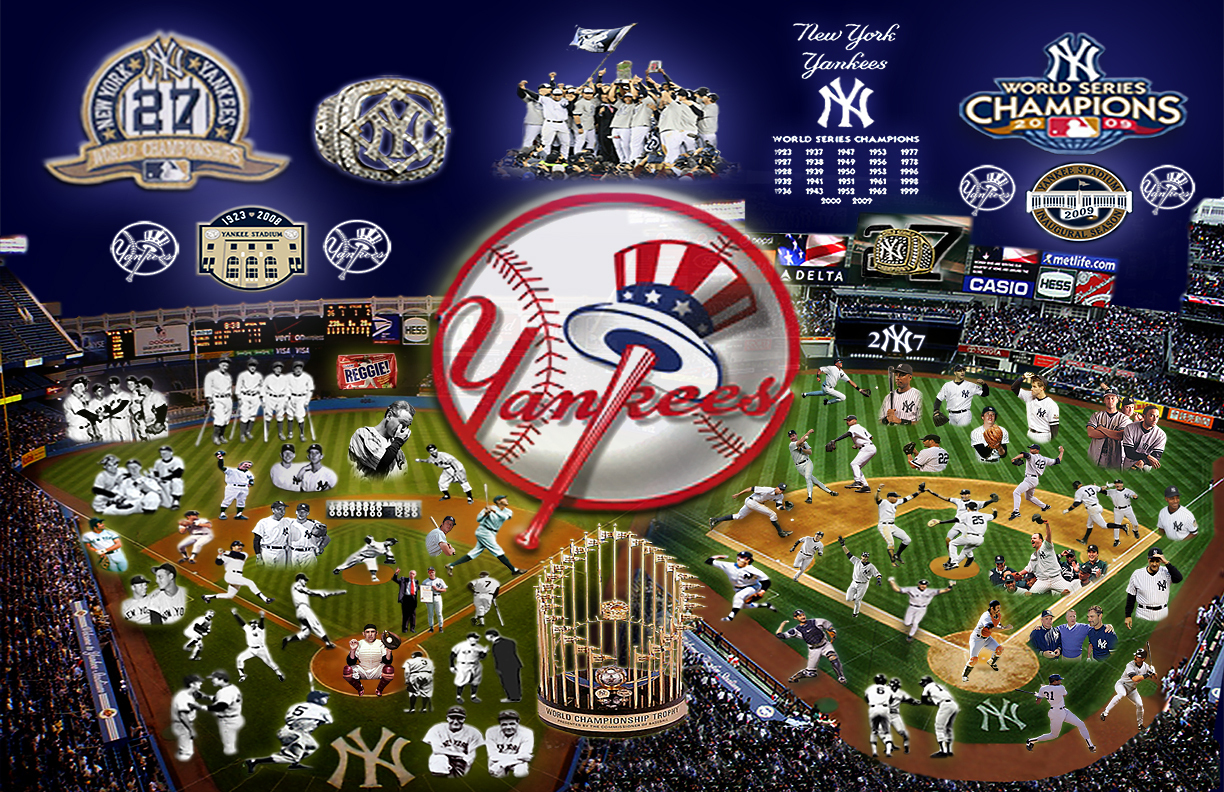 New York Yankees images Yankee HistoryOld and New fond dcran 1224x792