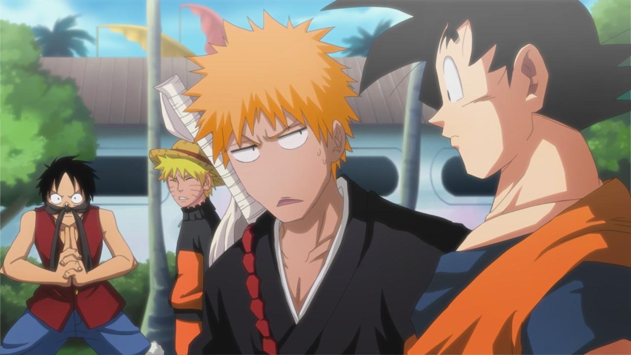 Free Download Hitman Reborn One Piece Naruto Bleach Crossovers Anime Jokes 1280x720 For Your Desktop Mobile Tablet Explore 48 Epic Zoro Wallpaper Sanji Wallpaper