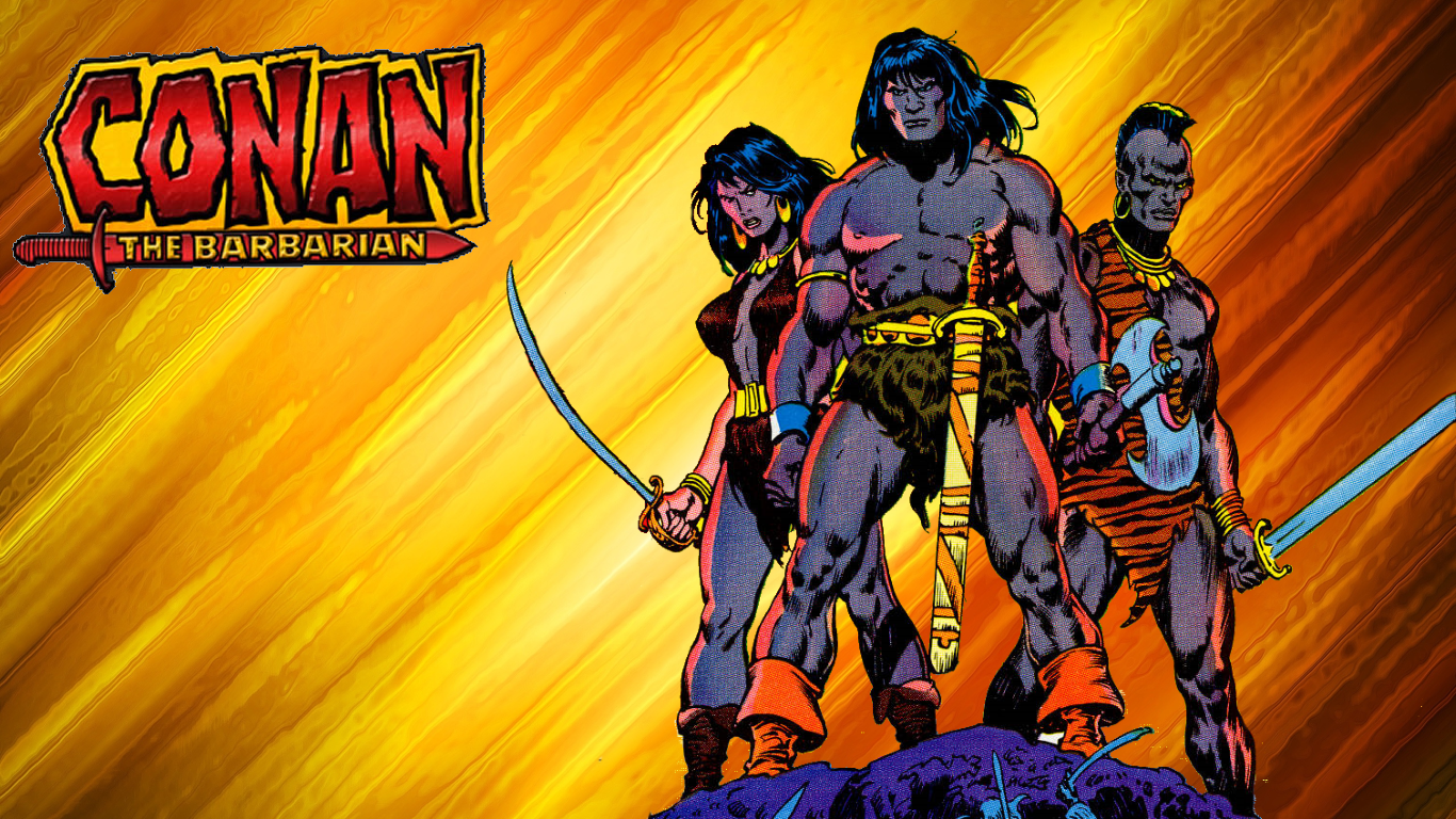 Conan The Barbarian Wallpaper by Gilgamesh Scorpion on 1366x768