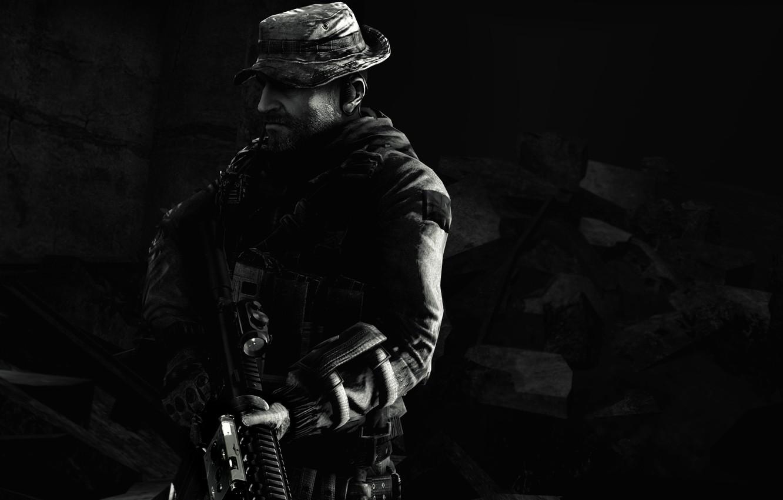 Wallpaper Call of Duty Modern Warfare SAS John Price Call of 1332x850