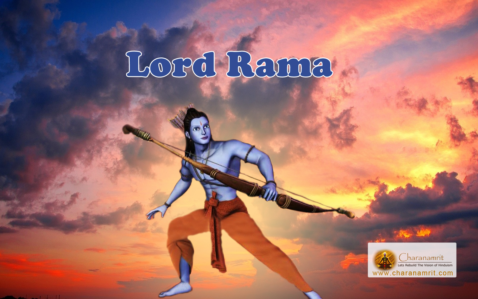Free download 3D HD Wallpaper for download Lord Rama 3D HD