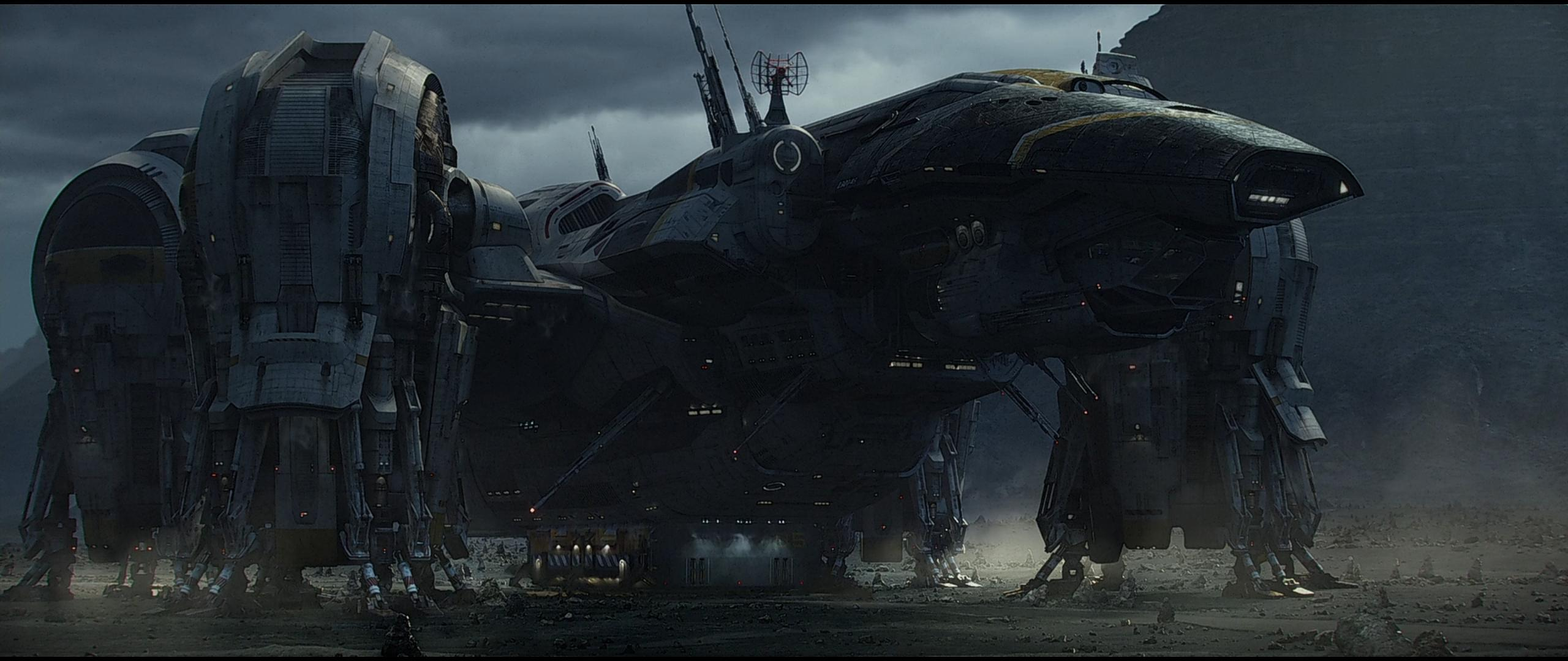 The Best of the Internets Wallpaper Prometheus the Ship [2560x1080] 2560x1080
