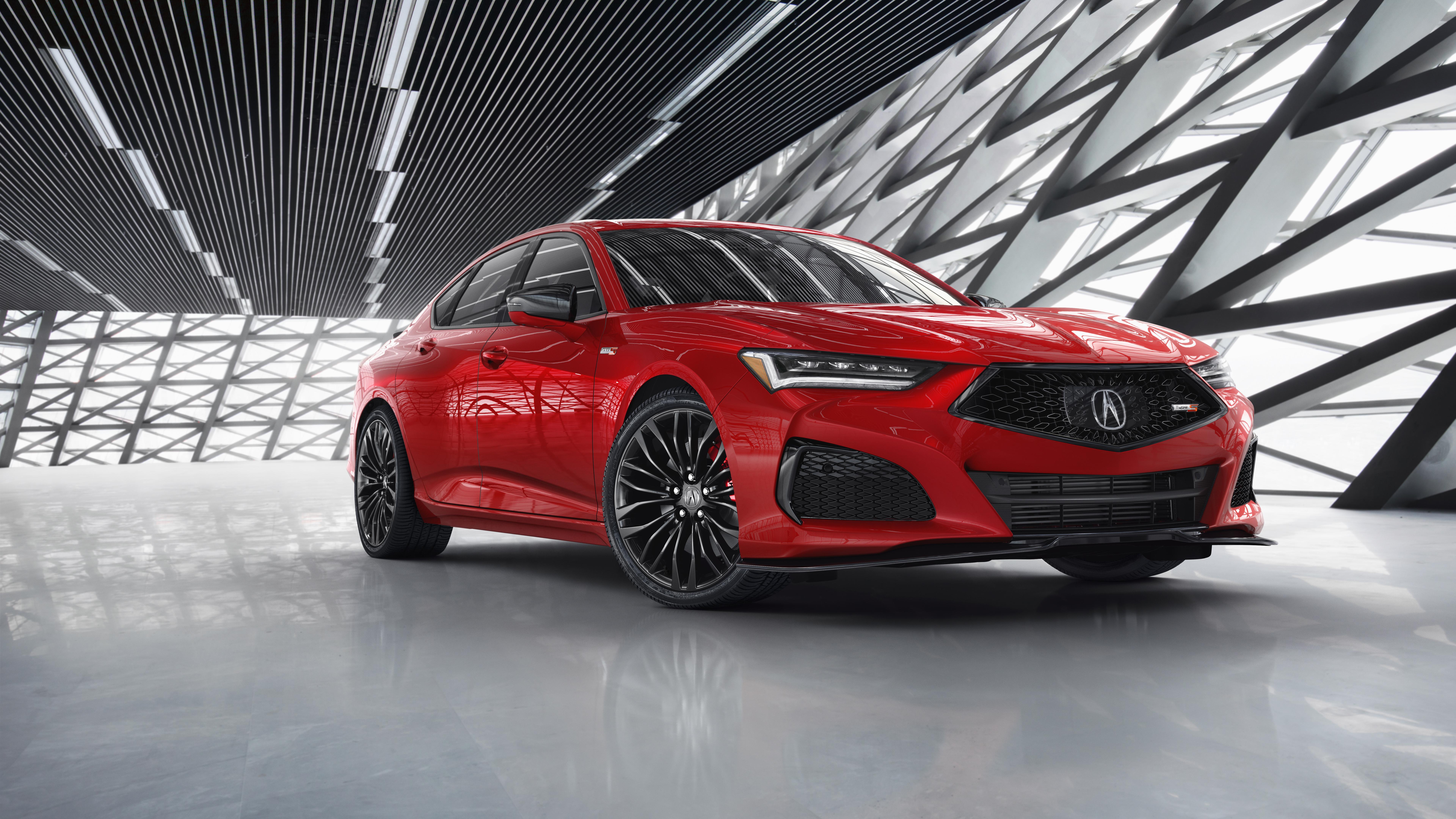 2021 Acura TLX Type S 4K 8K Wallpaper HD Car Wallpapers ID 14895 7680x4320